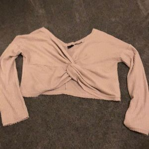 Cropped UO sweater